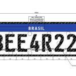 Conheça a placa do Mercosul que chega ao Brasil até setembro